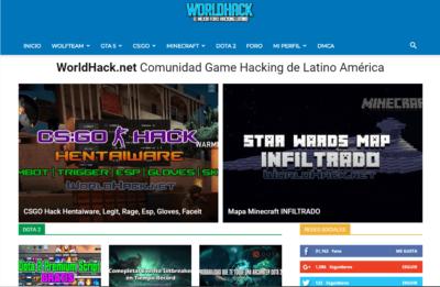 Portada de WorldHack.net